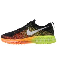 Nike Flyknit Air Max rainbow Running shoes