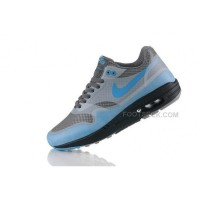 Air Max 87 Hyperfuse Mens Running Shoes Grey Blue