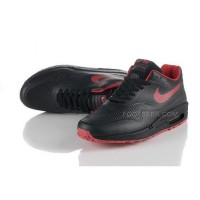 Air Max 87 Hyperfuse Mens Shoes Black Red Top