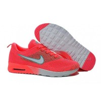 Nike Air Max 87 Thea Flyknit Womens Shoes Running Shoes Pink White