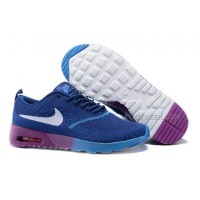Nike Air Max 87 Thea Flyknit Womens Shoes Running Shoes Blue Purple
