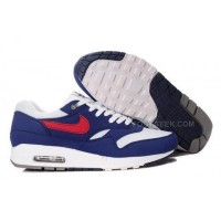 Nike Air Max 87 Men Shoes Blue White Red