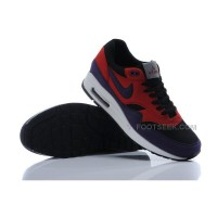 Air Max 87 Mens Shoes Black Red Purple