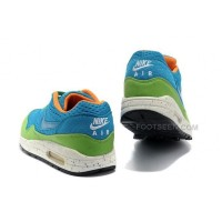Nike Air Max 87 Womens Shoes Blue Green