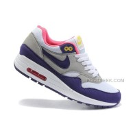 Nike Air Max 87 Womens Shoes Blue Gray White