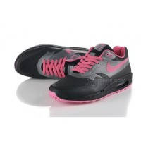 Air Max 87 Hyperfuse Womens Shoes Black Pink