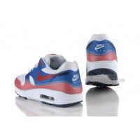 Air Max 87 Hyperfuse Womens Shoes White Blue Red