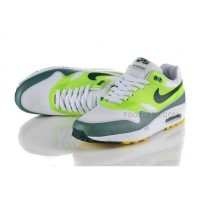 Air Max 87 Hyperfuse Womens Shoes White Green Blue