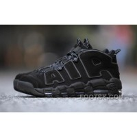Nike Air More Uptempo AIR Triple Black 3M 414962-004 Women/men New Release