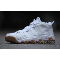 Nike Air More Uptempo AIR 414962-100-103 White Gum Women/men Cheap To Buy
