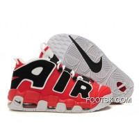 "Best Nike Air More Uptempo ""Asia Hoop Pack"" Varsity Red/White-Black"