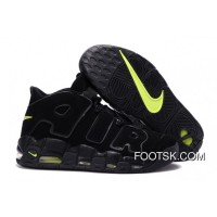 "Nike Air More Uptempo ""Black/Volt"" Best"