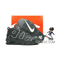 Nike Air More Uptempo Dark Grey/White Release Authentic CGmSD