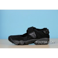 Nike Air Rift BR 315766-006 All Black Shoes Cheap To Buy