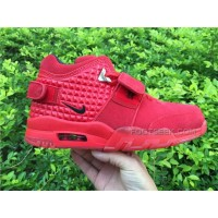 Men Basketball Shoes Nike Air Trainer Cruz Red October AAAA 238