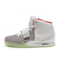 For Sale Nike Air Yeezy 2 Wolf Grey/Pure Platinum Glow In The Dark