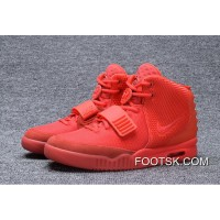 Free Shipping NIKE AIR YEEZY 2 II RED OCTOBER 508214-660 2