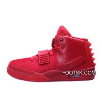 "Nike Air Yeezy 2 ""Red October"" Glow In The Dark New Release"