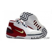 Nike Air Zoom Generation 'First Game' Retro White Red And Gold Discount W2DTA