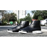 For Sale Nike Benassi Boot 819683-001 Men Sneaker Black White
