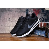 GREY BLACK NIKE CORTEZ RETRO 3 Free Shipping