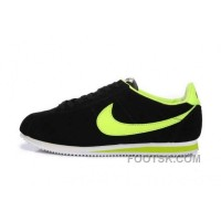 Cheap To Buy Nike Classic Cortez Nylon Mens Deep Gray Orange