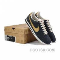 Cheap To Buy Nike Classic Cortez Yoth Mens Gray Gold