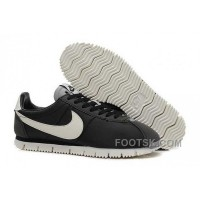 Nike Classic Cortez NM QS Womens Black White Top Deals
