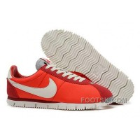 Nike Classic Cortez NM QS Womens Red White Cheap To Buy