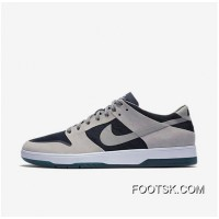 NIKE SB ZOOM DUNK LOW ELITE 864345-004 Women Mens Dark Blue/Black/White Grey Free Shipping