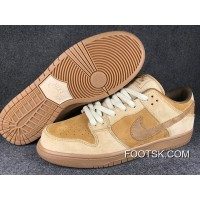 Nike SB Dunk Low QS Wheat 883232-700 Women Men Top Deals
