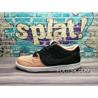 New Style : First X Nike Dunk Low Sb Prm Salmon 313170 603