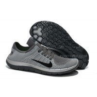 2015 Nike Free Flyknit 4.0 Womens Running Shoes Newest On Sale Couples Sneaker Gray White