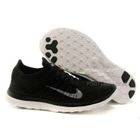 2015 Nike Free Flyknit 4.0 Mens Running Shoes Newest On Sale Couples Sneaker Black Beige