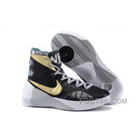 Nike 2015 Hyperdunk Black Gold For Sale KN26xR