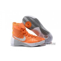 Nike 2015 Hyperdunk Orange Silver Christmas Deals RadnHH