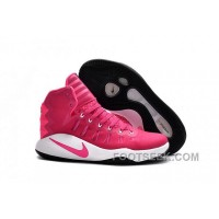 Nike Hyperdunk 2016 Pink White For Sale
