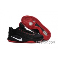 Nike Hyperdunk 2016 Low Black Red White Men's Basketball Shoes Best PFcBSN
