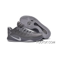 Nike Hyperdunk 2016 Low Cool Grey Men's Basketball Shoes Super Deals 3e2nk