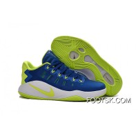 Nike Hyperdunk 2016 Low Royal Blue/Green White Men's Basketball Shoes Copuon Code ZrX8Rx3