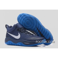Nike HyperRev Black/Blue White Men's Basketball Shoes Top Deals HEeRa
