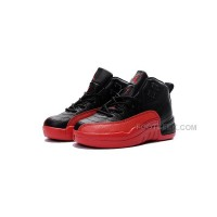 Best Price Air Jordan 12 Flu Game Black And White Kids Sneaker Discount