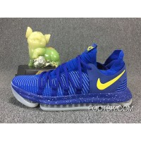 NIKE ZOOM KD10 11 897816-460 Blue Yellow New Release