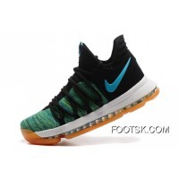 Copuon Code Nike KD 10 Green Black White Men Shoes Kevin Durant
