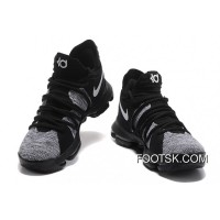 Nike KD 10 Grey Black Men Shoes Kevin Durant New Style