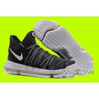 Cheap To Buy New Nike KD 10 'Oreo' Black White