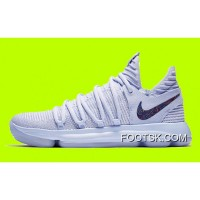 New Nike KD 10 'Anniversary' Faint Blue/Multi Super Deals