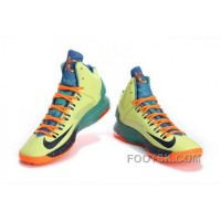 Cheap To Buy Nike KD V As Mens Light Green Black Orange XXaP27