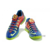 Christmas Deals Nike KD V Elite Mens Red Blue Green WXFN6S