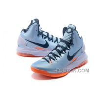 Authentic Nike Zoom KD V Mens Aqua Blue Orange ZxdmS